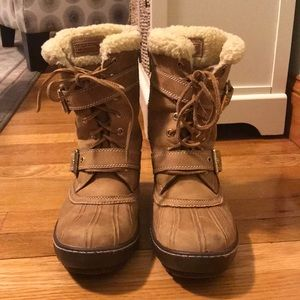 Lined Sperry Topsider Snow Boots